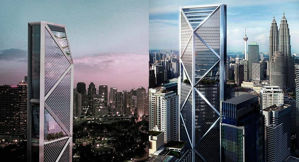 Images of building and construction - Ilham Baru Tower Building Review Journal