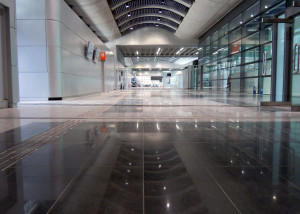 Flowcrete Group provided specialist flooring solutions for Hong Kong's new Kai Tak Cruise Terminal