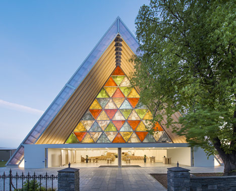 Cardboard Cathedral, Christchurch, New Zealand, 2013