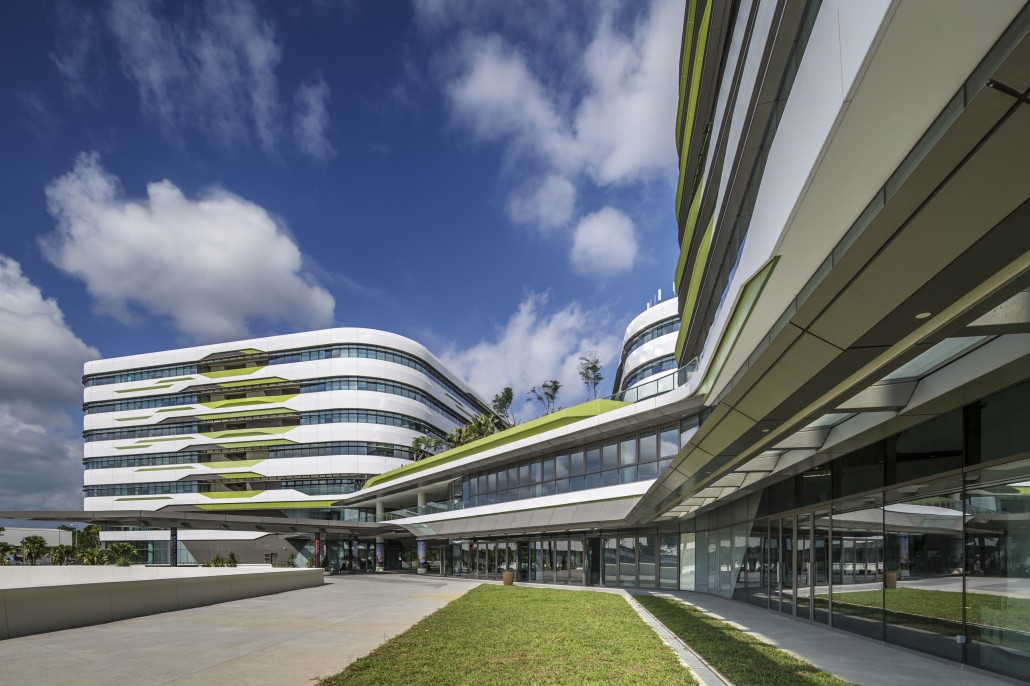 Singapore university of technology and design s academic for U of a architecture building