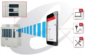 A contactless communication unit offers ease of service and maintenance.