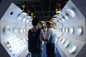 Highlights from the 2015 Guangzhou International Lighting Exhibition. Image courtesy of GILE.