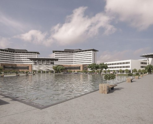 The development is set to become the biggest health campus in the Middle Eastern region.