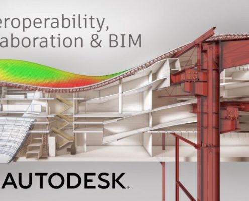 Autodesk and Trimble will take steps to accelerate interoperability by exchanging (APIs) and developer tools. Image courtesy of Autodesk.