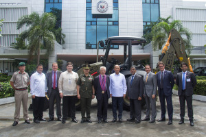 Leading construction equipment manufacturer JCB has won a tender to help with future disaster relief efforts in the Philippines.