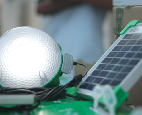 Schneider Electric employees will distribute more than 1,800 units of the Mobiya solar lamps to rural communities in 12 countries across the region.