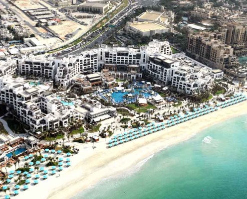 The opening of the new 430-room Jumeirah Al Naseem gives substance to the Ruler of Dubai's ambition.