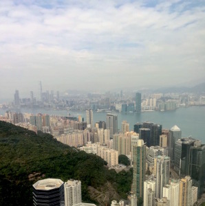 The view from the NEA Hong Kong Head Office. Image courtesy of Crestron.