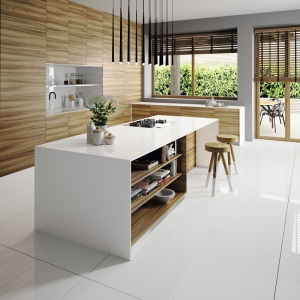 Silestone® N-Boost in iconic white