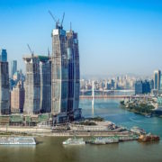 Raffles City Chongqing Topping Out